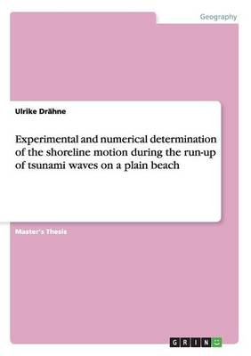 Experimental and Numerical Determination of the Shoreline Motion During the Run-Up of Tsunami Waves on a Plain Beach (Paperback)