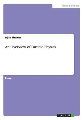 An Overview of Particle Physics (Paperback)