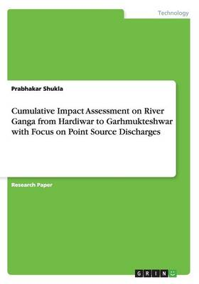 Cumulative Impact Assessment on River Ganga from Hardiwar to Garhmukteshwar with Focus on Point Source Discharges (Paperback)