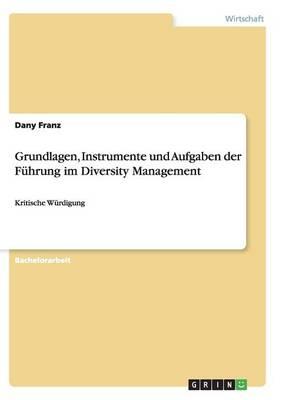 Grundlagen, Instrumente Und Aufgaben Der Fuhrung Im Diversity Management (Paperback)