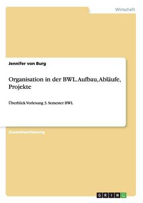 Organisation in Der Bwl (Paperback)