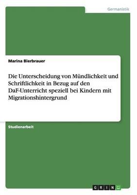 Die Unterscheidung Von M Ndlichkeit Und (Paperback)