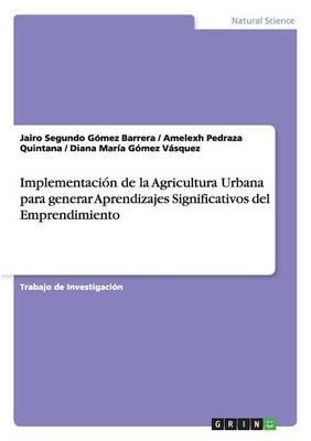 Implementacion de la Agricultura Urbana Para Generar Aprendizajes Significativos del Emprendimiento (Paperback)