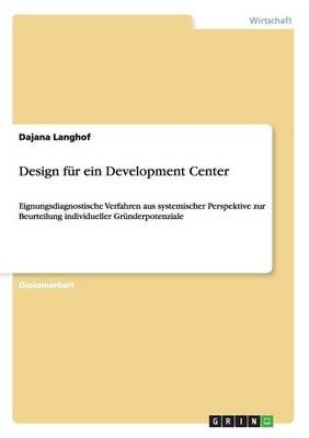 Design Fur Ein Development Center (Paperback)
