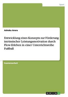 Entwicklung Eines Konzepts Zur Forderung Intrinsischer Leistungsmotivation Durch Flow-Erleben in Einer Unterrichtsreihe Fuball (Paperback)