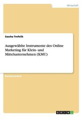 Ausgewahlte Instrumente Des Online Marketing Fur Klein- Und Mittelunternehmen (Kmu) (Paperback)