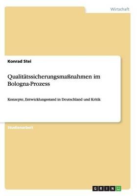 Qualitatssicherungsmassnahmen Im Bologna-Prozess (Paperback)
