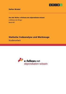 Statische Codeanalyse Und Werkzeuge (Paperback)