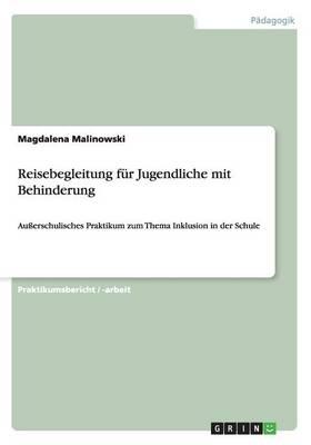 Reisebegleitung Fur Jugendliche Mit Behinderung (Paperback)