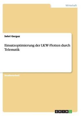 Einsatzoptimierung Der Lkw-Flotten Durch Telematik (Paperback)