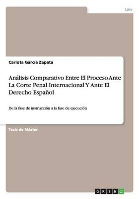 Analisis Comparativo Entre El Proceso Ante La Corte Penal Internacional y Ante El Derecho Espanol (Paperback)