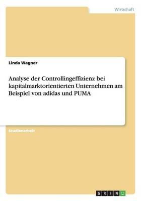 Analyse Der Controllingeffizienz Bei Kapitalmarktorientierten Unternehmen Am Beispiel Von Adidas Und Puma (Paperback)