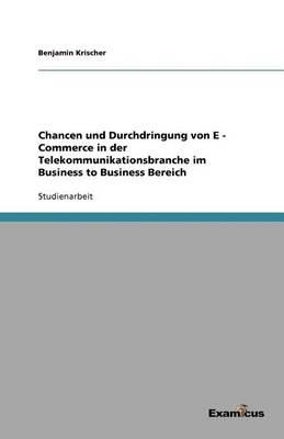 Chancen Und Durchdringung Von E - Commerce in Der Telekommunikationsbranche Im Business to Business Bereich (Paperback)