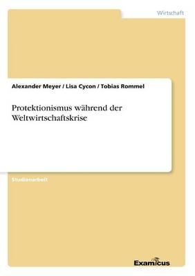 Protektionismus wahrend der Weltwirtschaftskrise (Paperback)