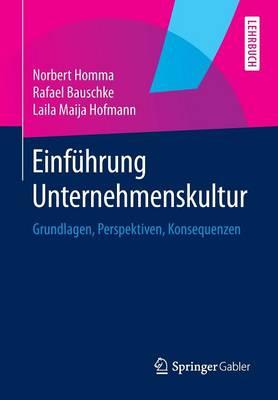 Einf hrung Unternehmenskultur: Grundlagen, Perspektiven, Konsequenzen (Paperback)