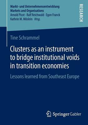 Clusters as an instrument to bridge institutional voids in transition economies: Lessons learned from Southeast Europe - Markt- und Unternehmensentwicklung Markets and Organisations (Paperback)
