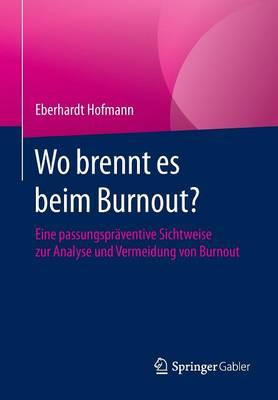 Wo Brennt Es Beim Burnout?: Eine Passungspr�ventive Sichtweise Zur Analyse Und Vermeidung Von Burnout (Paperback)