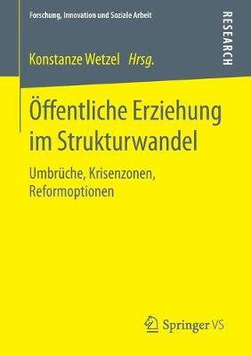 �ffentliche Erziehung Im Strukturwandel: Umbr�che, Krisenzonen, Reformoptionen - Forschung, Innovation Und Soziale Arbeit (Paperback)