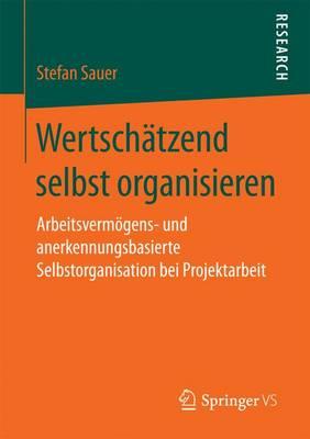 Wertsch tzend Selbst Organisieren: Arbeitsverm gens- Und Anerkennungsbasierte Selbstorganisation Bei Projektarbeit (Paperback)