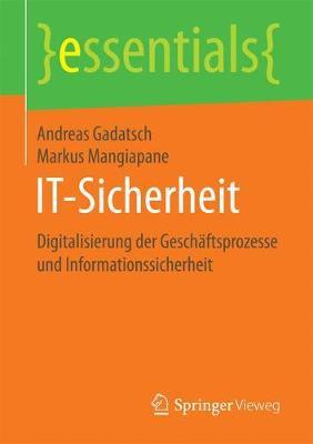 It-Sicherheit: Digitalisierung Der Gesch ftsprozesse Und Informationssicherheit - Essentials (Paperback)