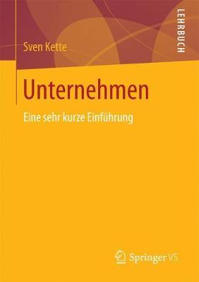 Unternehmen: Eine Sehr Kurze Einf�hrung (Paperback)