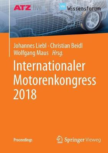 Internationaler Motorenkongress 2018 - Proceedings (Paperback)