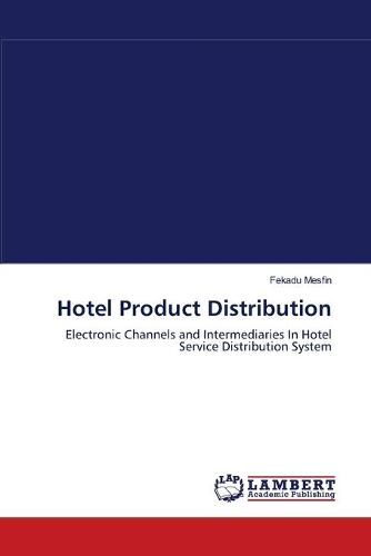 Hotel Product Distribution (Paperback)