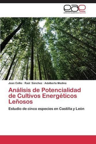 Analisis de Potencialidad de Cultivos Energeticos Lenosos (Paperback)