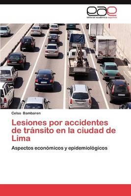 Lesiones Por Accidentes de Transito En La Ciudad de Lima (Paperback)