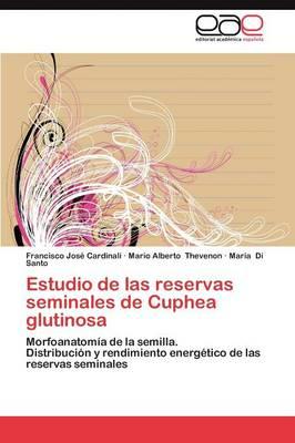 Estudio de Las Reservas Seminales de Cuphea Glutinosa (Paperback)