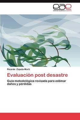 Evaluacion Post Desastre (Paperback)