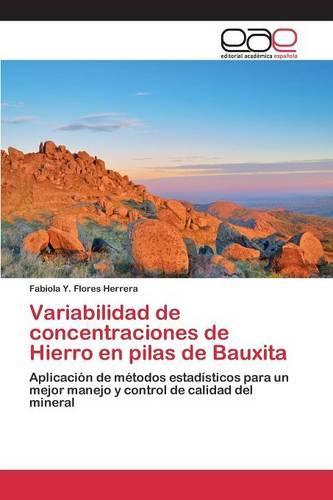 Variabilidad de Concentraciones de Hierro En Pilas de Bauxita (Paperback)
