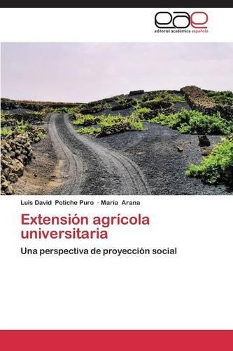 Extension Agricola Universitaria (Paperback)
