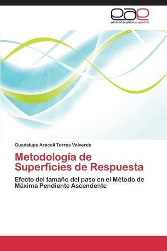 Metodologia de Superficies de Respuesta (Paperback)