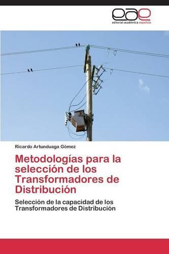 Metodologias Para La Seleccion de Los Transformadores de Distribucion (Paperback)