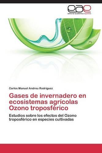 Gases de Invernadero En Ecosistemas Agricolas Ozono Troposferico (Paperback)