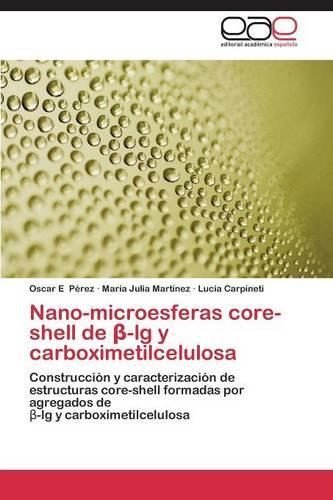 Nano-Microesferas Core-Shell de -Lg y Carboximetilcelulosa (Paperback)