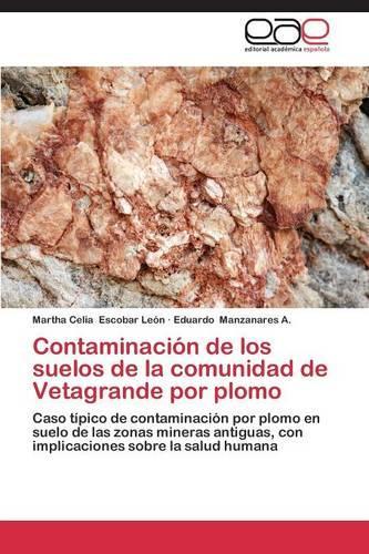 Contaminacion de Los Suelos de La Comunidad de Vetagrande Por Plomo (Paperback)