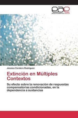 Extincion En Multiples Contextos (Paperback)