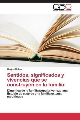 Sentidos, Significados y Vivencias Que Se Construyen En La Familia (Paperback)