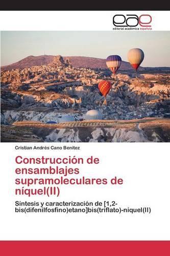 Construccion de Ensamblajes Supramoleculares de Niquel(ii) (Paperback)