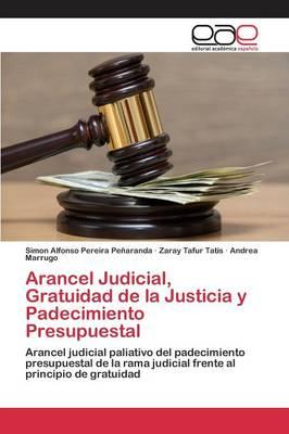 Arancel Judicial, Gratuidad de La Justicia y Padecimiento Presupuestal (Paperback)