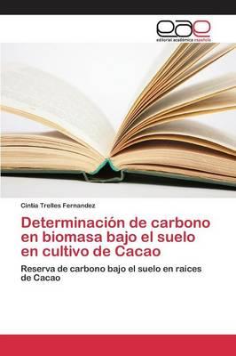 Determinacion de Carbono En Biomasa Bajo El Suelo En Cultivo de Cacao (Paperback)