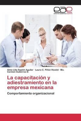 La Capacitacion y Adiestramiento En La Empresa Mexicana (Paperback)