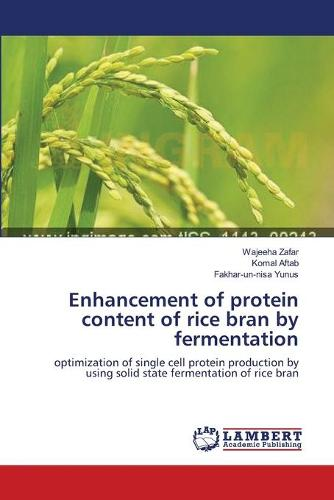 Enhancement of Protein Content of Rice Bran by Fermentation (Paperback)