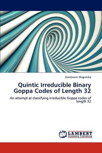 Quintic Irreducible Binary Goppa Codes of Length 32 (Paperback)