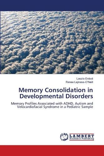 Memory Consolidation in Developmental Disorders (Paperback)