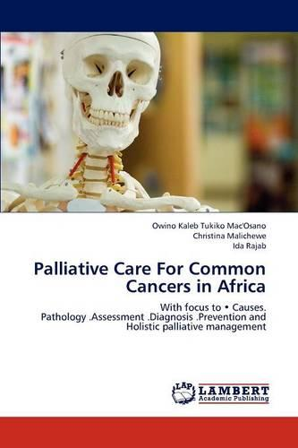 Palliative Care for Common Cancers in Africa (Paperback)