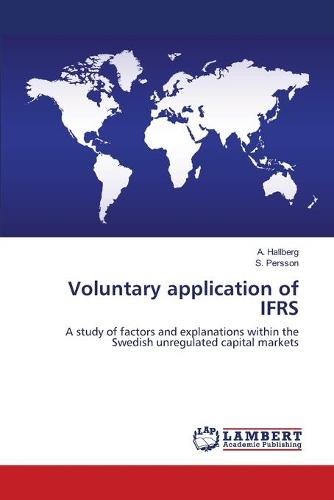Voluntary Application of Ifrs (Paperback)