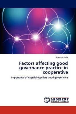 Factors Affecting Good Governance Practice in Cooperative (Paperback)